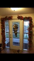 Handmade Christmas Garland and Wreaths!!