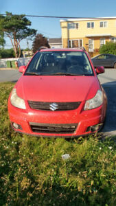 2008 Suzuki SX4 with All Wheel Drive