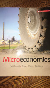 ECONOMICS- Microeconomics Textbook - McConnell