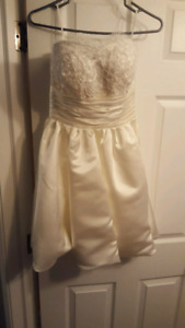 Short Ivory Wedding Dress - brand new!