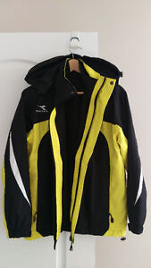 NEW Diadora Men's Jacket 3-in-1 Reversible Vest Medium M $35