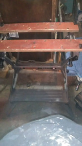 Perfect size portable work bench