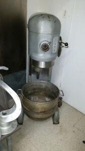 60 Quart Hobart Dough Mixer with all Attachments!
