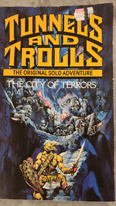 RPG Book: Tunnels and Trolls - The City of Terrors