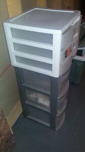 various storage drawer units