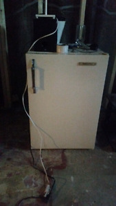 Small freezer and a Refrigerator