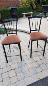 Set of 2 Bar Chairs