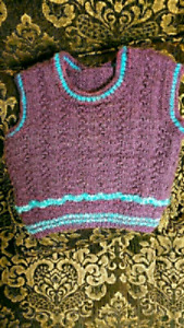 Infant Sweater Purple