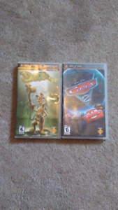 PSP Cars 2 and Daxter games