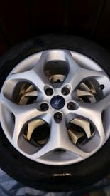"16"" ford focus alloy wheels 3 left"