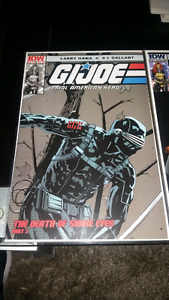 IDW COMICS G.I. JOE THE DEATH OF SNAKE EYES PART #1-2!