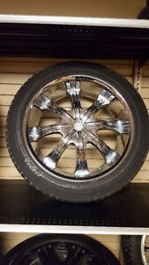 """Capella 8"" Truck Rims with tires"