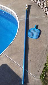 Pool Net Telescoping Pole / Perche Filet télescopique Piscine