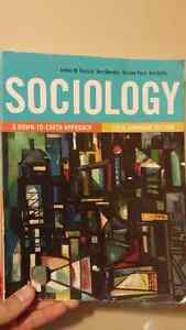 Sociology A Down to Earth Approach 6th Canadian Edition Kitchener / Waterloo Kitchener Area image 1