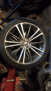 17 inch Scion FRS rims