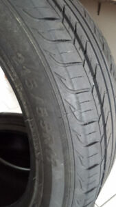 215 55R17 All Season Tires - Used One Summer