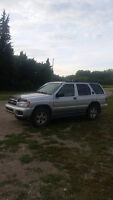 2002 Pathfinder with command start