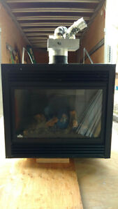 Napoleon Gas Fireplace with blower