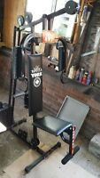 york 401 complete gym and exercise machine