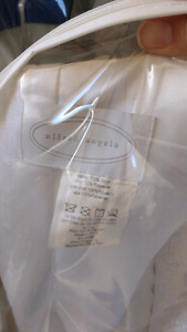 Alfred Angelo wedding dress with Royal blue