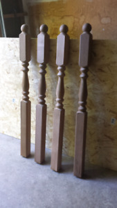 """Several Brand New - 54"""" Ball Top Posts"""