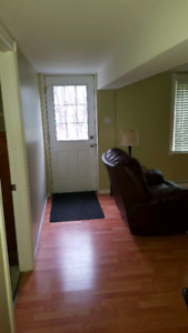 1 bedroom basement apartment East