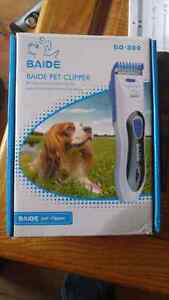 Pet clippers brand new