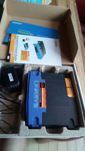 Linksys broadband firewall router 4 port switch/VPN endpoint