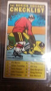 carte de hockey