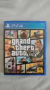 Grand Theft Auto Five (GTA V) for PS4