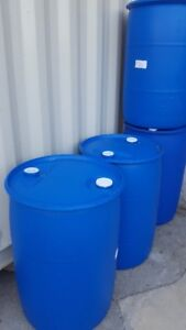 55 GAL. Plastic Barrels  Are For Sale
