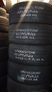 22in All-Season Used Tires - Excellent Condition!!