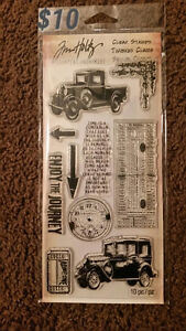 Jim Holtz Layering Stencils & Clear Stamps