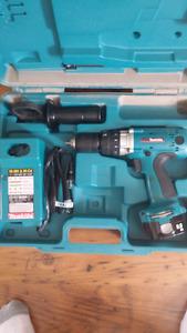 Makita 12 volt hammer drill