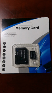 64gb microSD card with adaptor