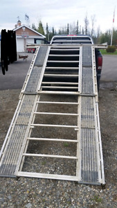 Sled deck 12 foot ramp