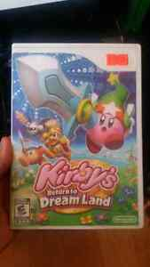 Kirby return to dream land for the Nintendo wii
