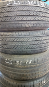 225 50 17  Pirelli and 2 Continental - 90%install and balance