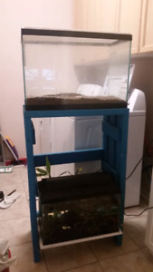 2 Fish tanks with stand and all accessories