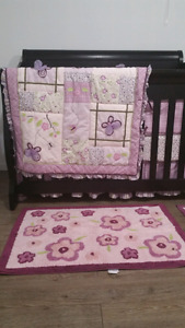 Branded crib bedding