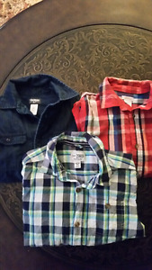 BOYS SIZE 7/8 BUTTON UP SHIRTS $10