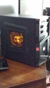 CUSTOM Gaming PC Orange Theme Win10Pro