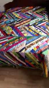 Beautiful patchwork quilt