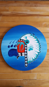 Native art painting