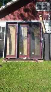 8x8 door and screen doors