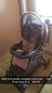 Safty First stroller, and car seat