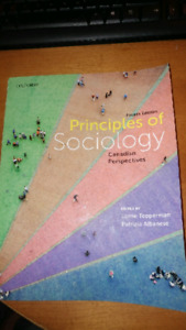 Principles of Sociology Fourth Edition Textbook for Sale!