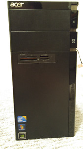 Core i7 870 Quadcore 2.93HGz 8gb ram 500gb hard drive desktop PC