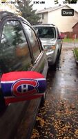 MONTREAL CANADIENS MIRROR COVERS