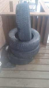 Tires for sale ---Goodyear ultra grip ice tires R205/65R15